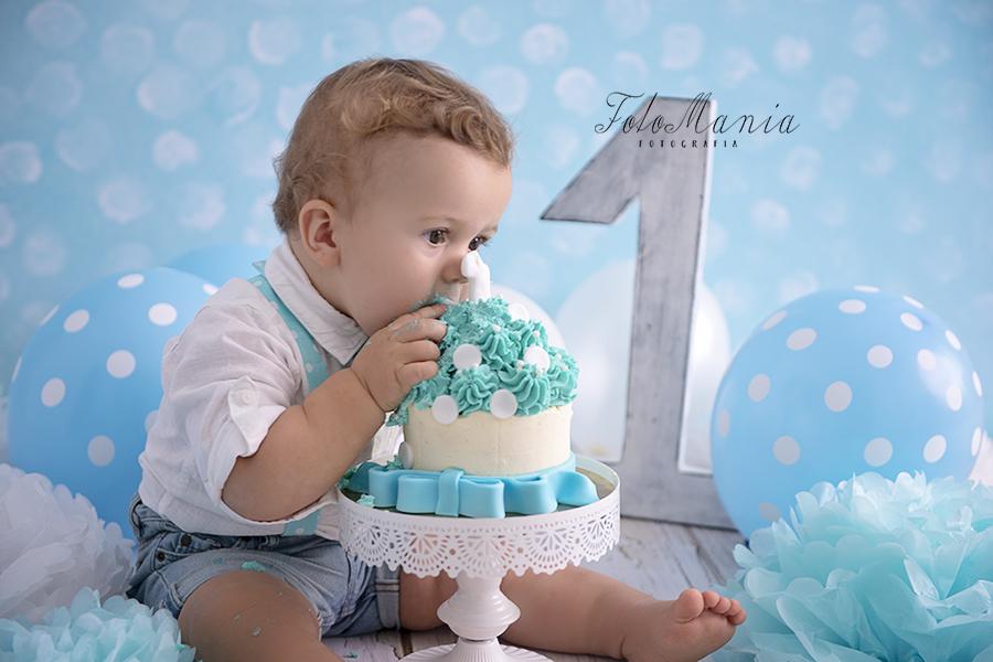 sesja smash cake na śląsku – sesja z tortem na roczek – sesja roczkowa ŚLĄSK