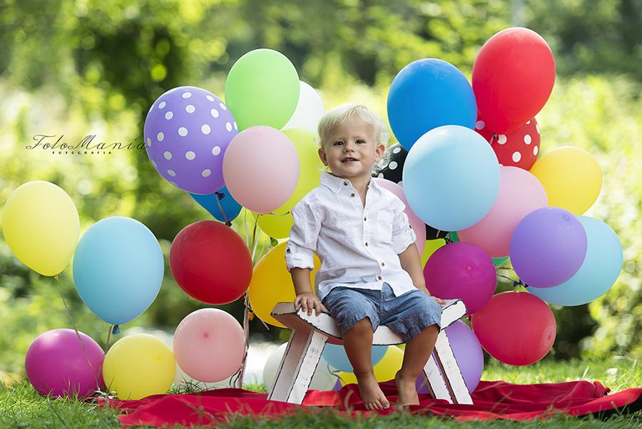 Sesje balonowe na śląsku,czyli kolorowa dziecięca sesja zdjęciowa w Zbrosławicach!